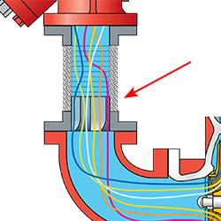 Metraflex Suction Diffuser Flex