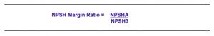 NPSH Margin Ratio