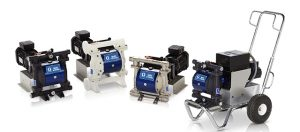 Husky 1050e Electric Air Charged Double Diaphragm Pump, Family S