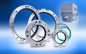 AEGIS® PRO SERIES RINGS PROTECT LARGE MOTORS AND GENERATORS FROM SHAFT VOLTAGE BEARING DAMAGE