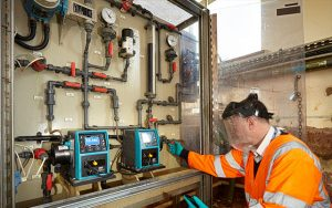 Accurate dosing pumps enable Welsh Water to maintain strict phosphorus limits and reduce maintenance costs