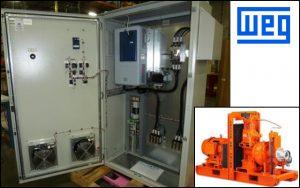 WEG packaged solutions for pump manufacturers