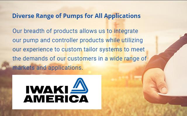 Iwaki America AODD pumps
