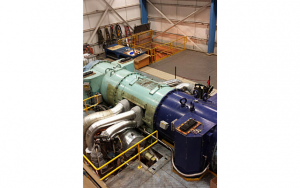 Sulzer The radial steam turbine powered a Canadian pulp manufacturing plant
