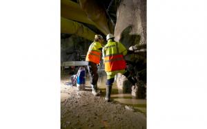Sulzer Dewatering installation with Sulzer XJ drainage pump.