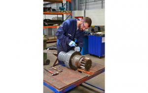 Sulzer The yaw motors are to be fully refurbished