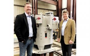 WorldWide Electric Louis Allis President Greg Peterson (left) and WorldWide Electric President & CEO Jim Taylor (right)