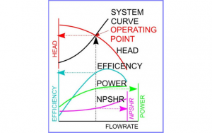 Europump Fig. 1 Pump system interaction curve