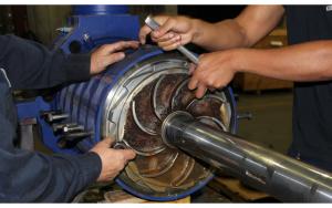 KSB boiler feed water pump