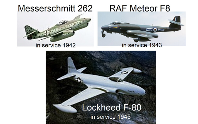 Pump Guy Fractured History of Industrial Reliability Pic #1 military jets