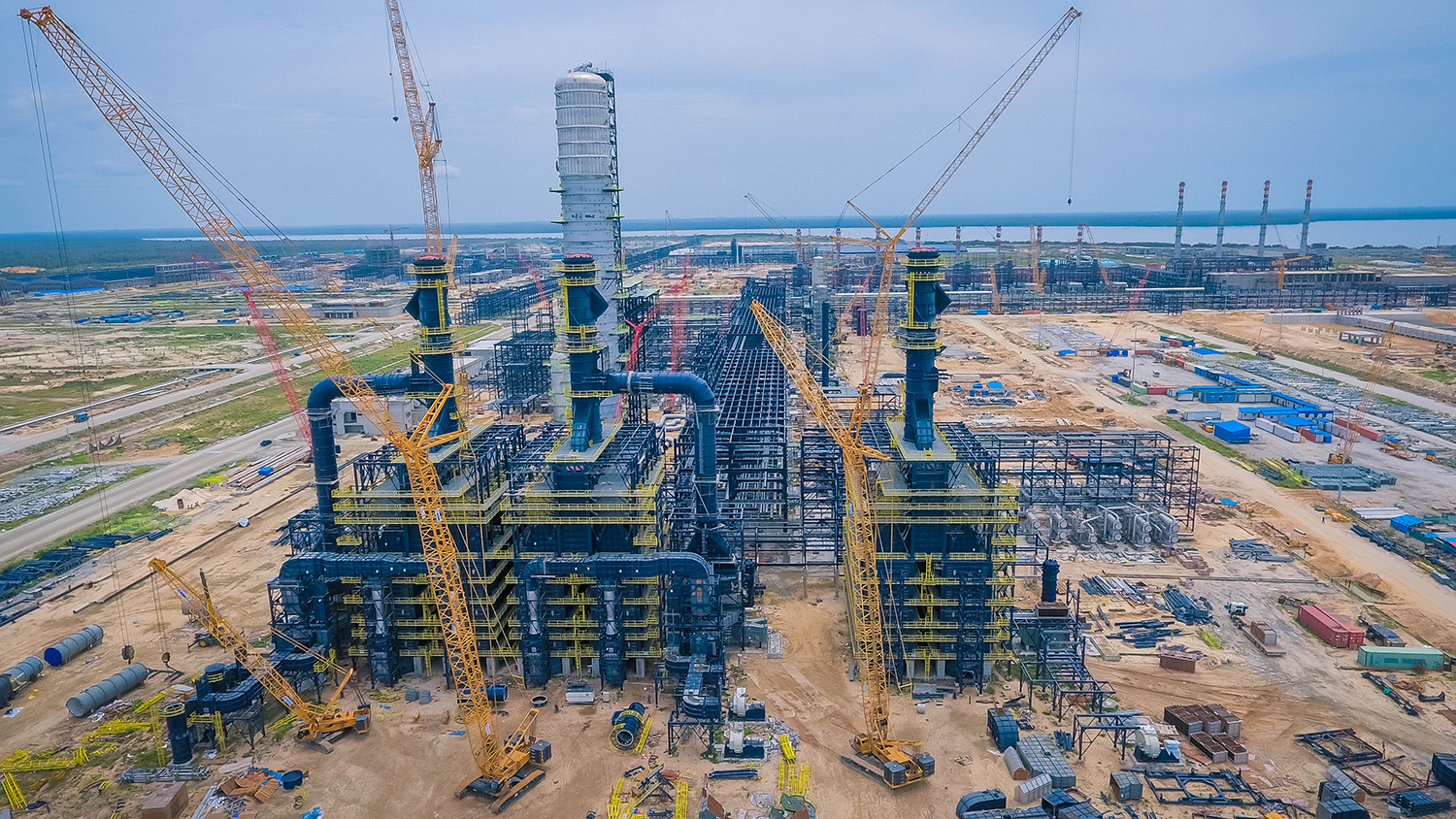 Sulzer's internals will be featured in all 65 separation columns at Dangote Refinery.