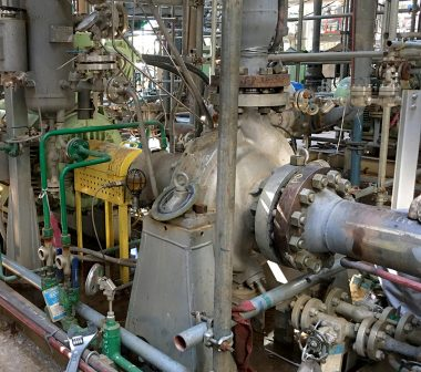 Sulzer ZF pump with the coke crusher