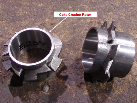 Sulzer The coke crusher rotor
